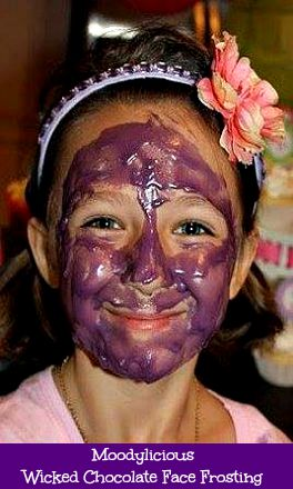 Moodylicious Wicked Chocolate Face Frosting