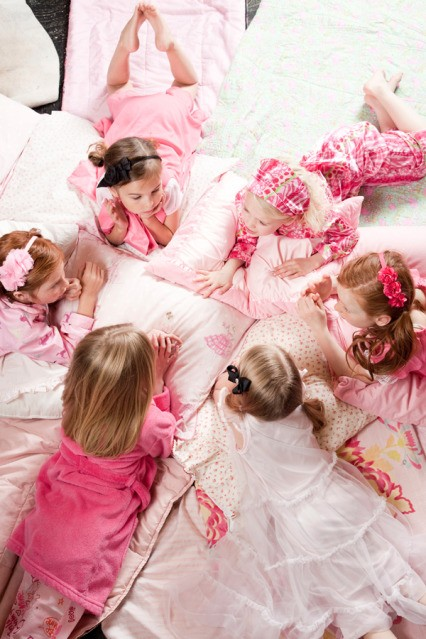 Create your own spa party at home for birthdays for A little bit off the top salon