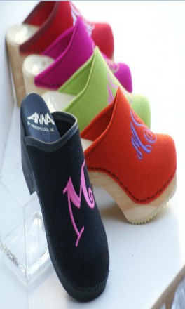 Monogram Clogs Kids