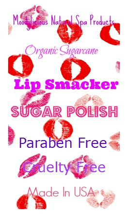 Organic Sugarcane Lip Smacker Sugar Polish 1oz