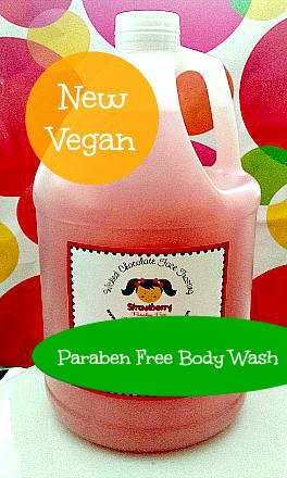 Gallon Paraben Free Body Wash
