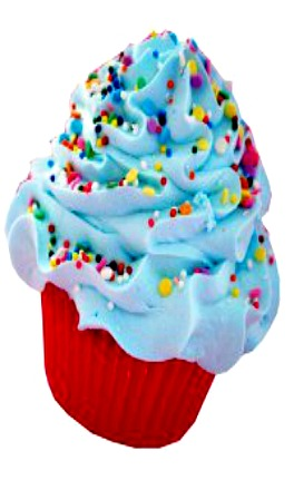 Swanky-Little Boy Blue Cupcake Bath Bomb