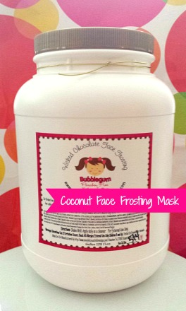 Gallon Sugarcane Coconut Face Frosting Mask