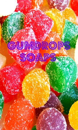 Gumdrop Candy Soaps