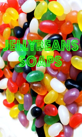 Jellybean Candy Soaps