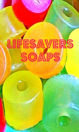 Lifesaver Candy Soaps