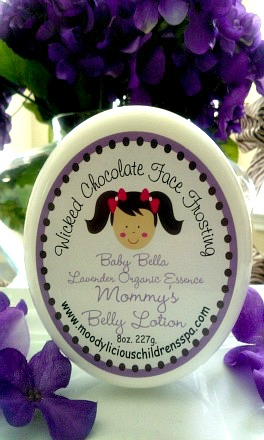 Baby Bella Lavender Mommy Belly Lotion